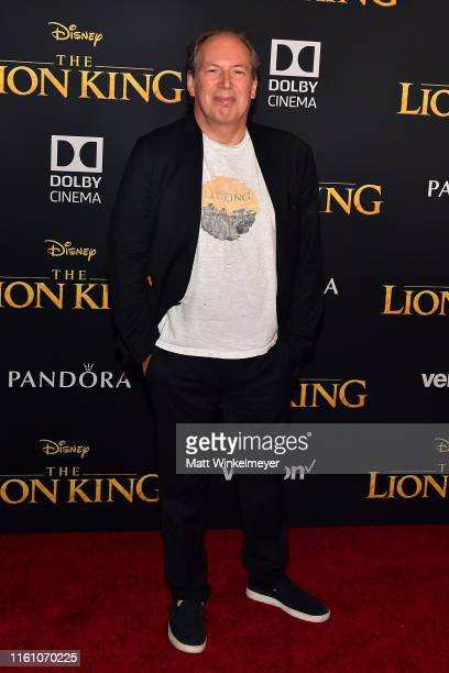 Hans Zimmer attends the premiere of Disney's The Lion King at Dolby Theatre on July 09 2019 in Hollywood California