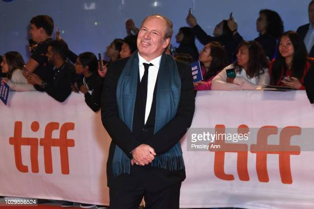 Hans Zimmer attends the Widows premiere during 2018 Toronto International Film Festival at Roy Thomson Hall on September 8 2018 in Toronto Canada