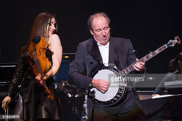 Hans Zimmer performs at SSE Arena on April 6 2016 in London England