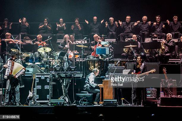 Hans Zimmer performs at SSE Arena Wembley on April 5 2016 in London England