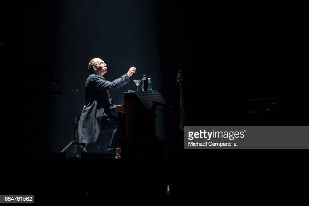 Hans Zimmer performs in concert at the Ericsson Globe Arena on May 18 2017 in Stockholm Sweden