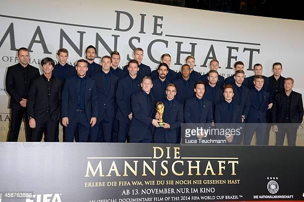 HansDieter Flick Erik Durm Mats Hummels Miroslav Klose Per Mertesacker Matthias Ginter Christoph Kramer Benedikt Hoewedes Thomas Mueller Kevin...