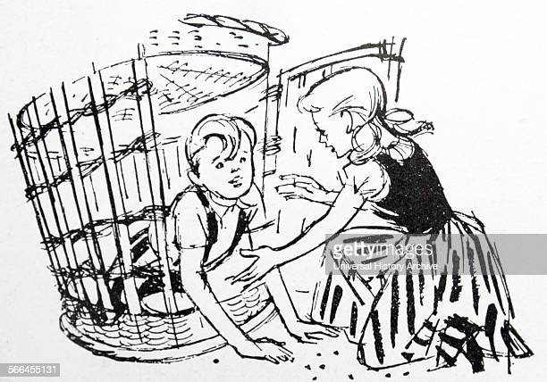 Hansel and Gretel fairy tale of German origin by the Brothers Grimm published in 1812 Hansel and Gretel are a young brother and sister threatened by...