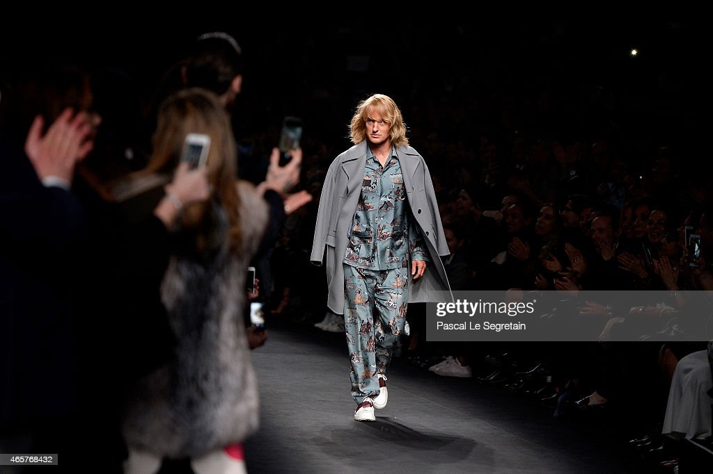 Hansel walks the runway at the Valentino Fashion Show during Paris Fashion Week at Espace Ephemere Tuileries on March 10, 2015 in Paris, France. ZOOLANDER 2 will open in theaters in the U.S. on February 12, 2016.