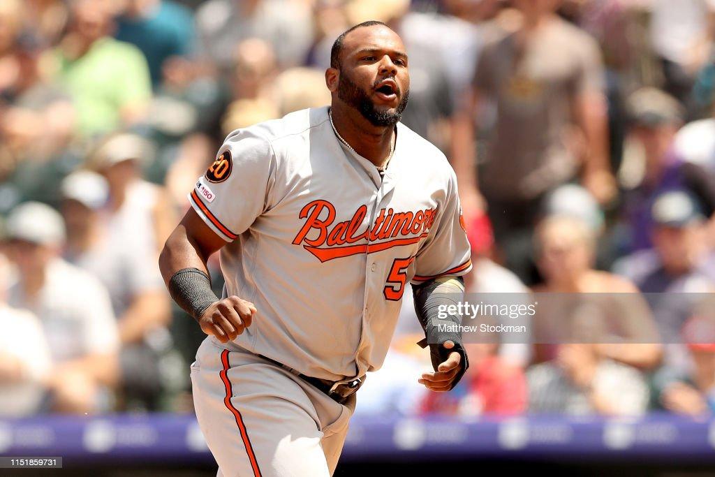 CO: Baltimore Orioles v Colorado Rockies