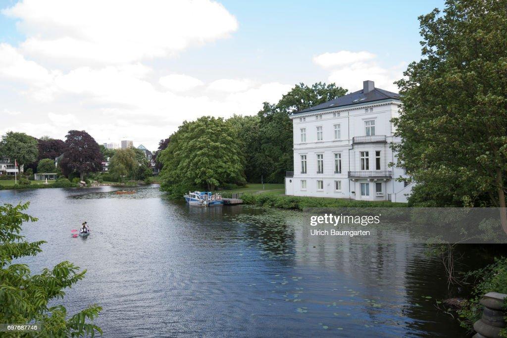 Hansestadt Hamburg - guest house of the Hamburg Senate. : News Photo