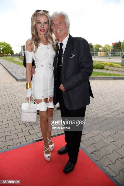 HansGeorg Muth and his wife Gisela Muth attend the 'Goldene Sonne 2017' Award by SonnenklarTV on May 13 2017 in Kalkar Germany
