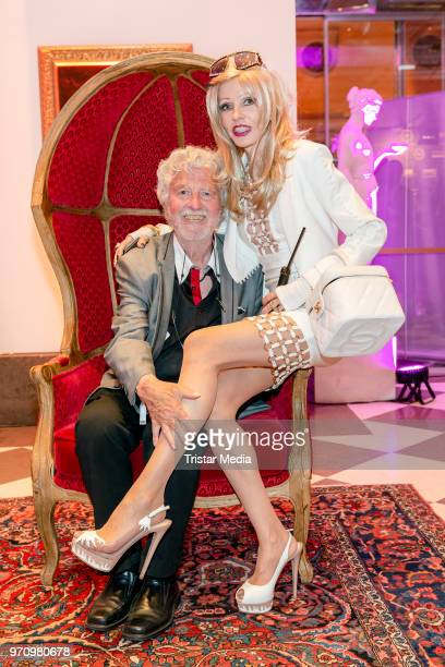 HansGeorg Muth and his wife Gisela Muth attend the 'Media Night And Polo Player Night' at De Medici Hotel on June 9 2018 in Duesseldorf Germany
