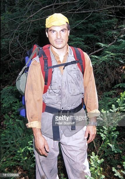 """Hans-Georg Panczak, PRO 7 - Serie """"Glueckliche Reise"""", Folge 12, """"Kanada"""", Episode 1 """"Die ungleichen Brueder"""", , Kanada/Amerika, Wildnis, Rucksack,..."""