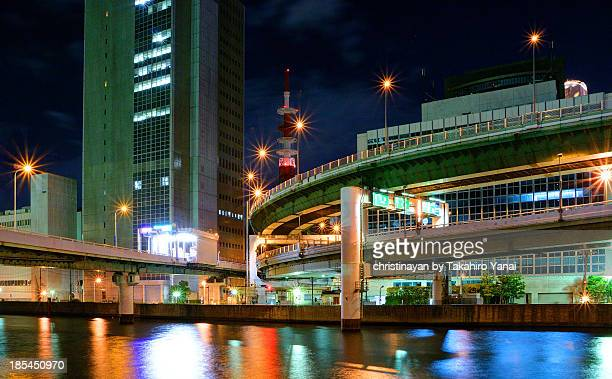 hanshin highway route 1 loop route - christinayan ストックフォトと画像