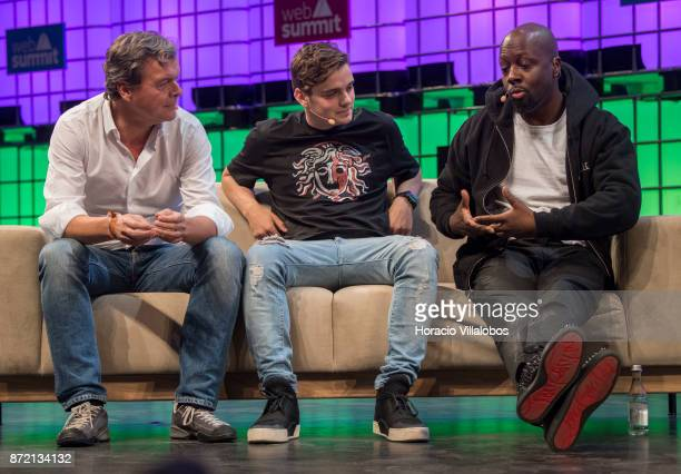 HansHolger Albrecht CEO Deezer Martin Garrix DJ/Producer CEO/Founder STMPD RCRDS and Wyclef Jean Musician Philanthropist Wyclef Jean talk about 'Can...