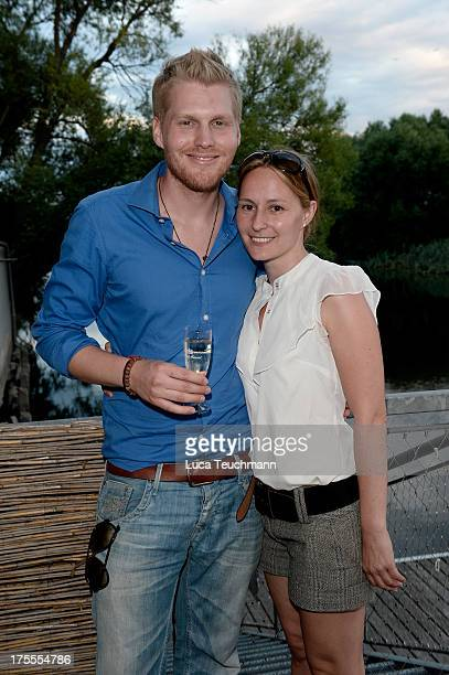 Hansi Arland and Regina Summerer attend the 20 Years Maxi Arland Charity Concert for SOSKinderdorf eV at Optikpark on August 3 2013 in Rathenow...
