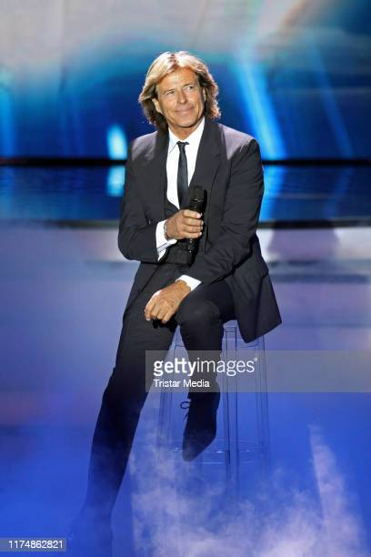 """Hansi Hinterseer at the charity gala """"Willkommen bei Carmen Nebel"""" at TUI Arena on September 14, 2019 in Hanover, Germany."""