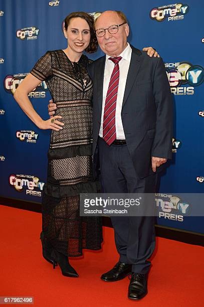 HansJoachim Heist and guest attend the 20th Annual German Comedy Awards at Coloneum on October 25 2016 in Cologne Germany