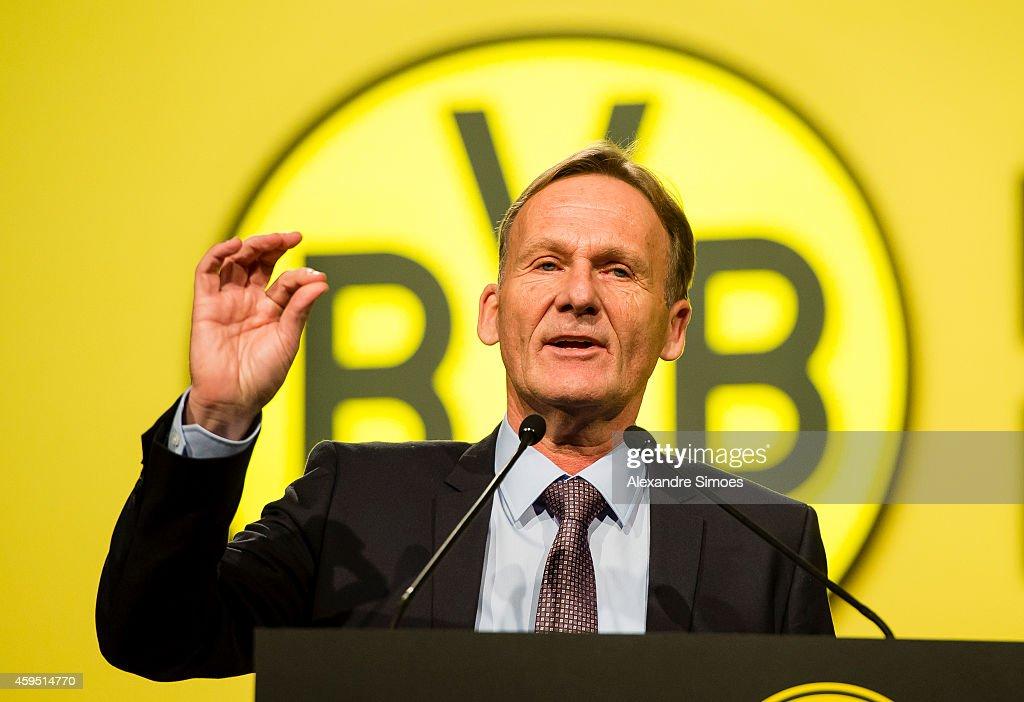 Borussia Dortmund Annual General Meeting : News Photo