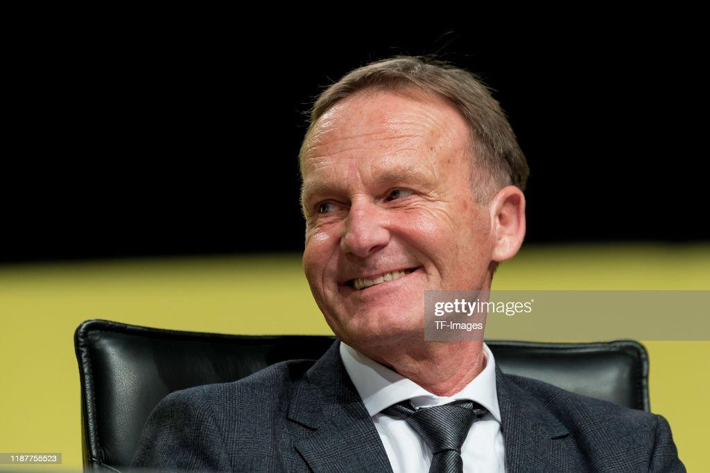Borussia Dortmund Shareholders' Meeting : News Photo