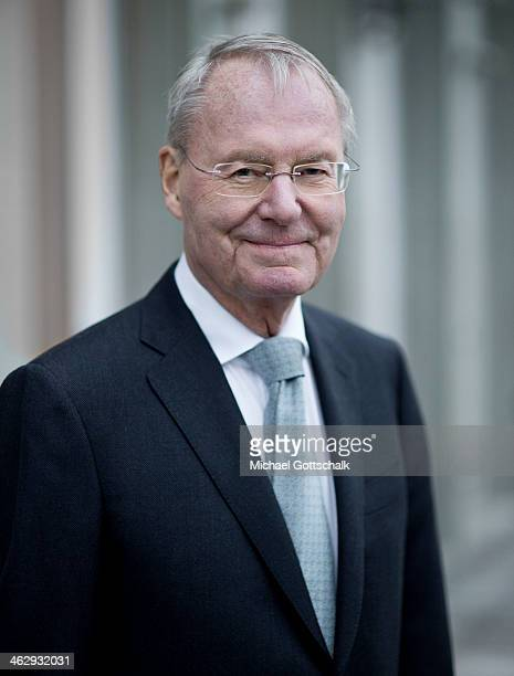 HansOlaf Henkel former president of Association of German Industry and new party member of Alternative for Germany Party AFD poses during a portrait...