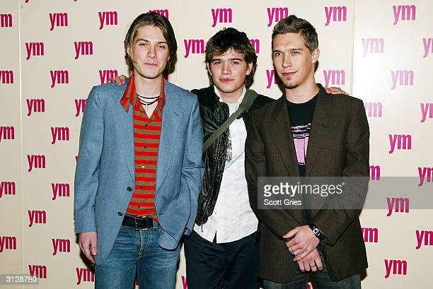 Hanson arrives at the 5th Annual YM MTV Issue party at Spirit March 24 2004 in New York City
