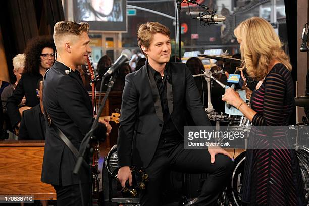 AMERICA Hanson performs live on 'Good Morning America' 6/17/13 airing on the ABC Television Network on the ABC Television Network HANSON LARA