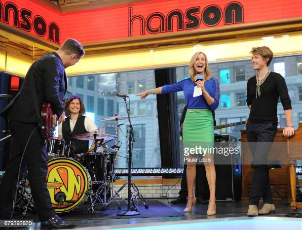 AMERICA Hanson performs live on 'Good Morning America' on Friday May 5 2017 airing on the ABC Television Network HANSON LARA
