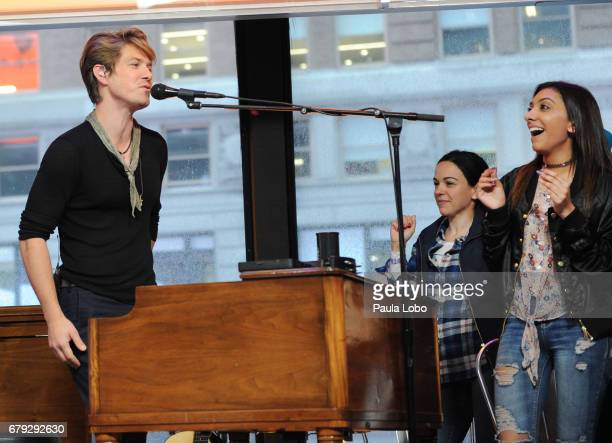 AMERICA Hanson performs live on 'Good Morning America' on Friday May 5 2017 airing on the ABC Television Network HANSON FANS