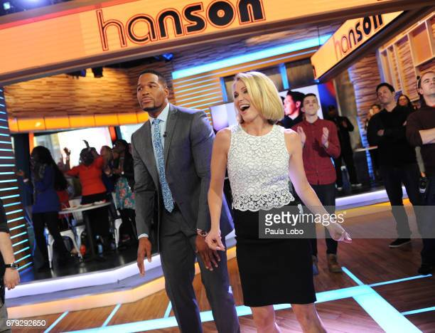 AMERICA Hanson performs live on 'Good Morning America' on Friday May 5 2017 airing on the ABC Television Network MICHAEL