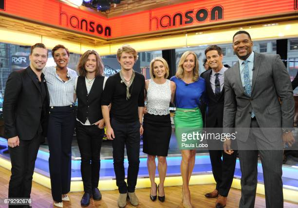 AMERICA Hanson performs live on Good Morning America on Friday May 5 2017 airing on the Walt Disney Television via Getty Images Television Network...