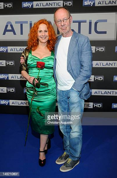"Hans-Peter Korff and Christiane Leuchtmann attend SKY launch event ""Sky Atlantic HD"" at the location ""Schuppen 51"" on May 23, 2012 in Hamburg,..."