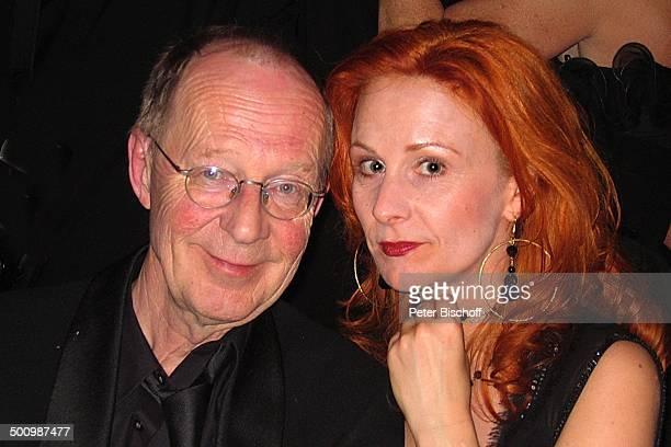 HansPeter Korff Ehefrau Christiane Leuchtmann Deutscher Sportpresseball Frankfurt a M Deutschland PNr 1493/2006 Alte Oper Preisverleihung Kette...