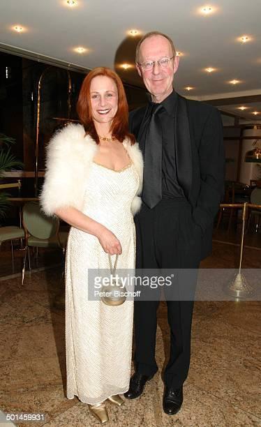 HansPeter Korff Ehefrau Christiane Leuchtmann Gala 23 Sportpresseball Alte Oper Frankfurt Hessen Deutschland Europa Ehemann Schauspieler...