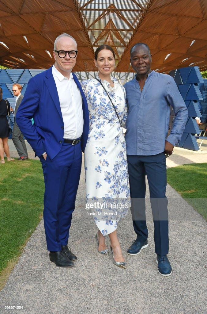 Serpentine Pavilion 2017 Designed By Francis Kere - Pre-Opening Drinks Reception
