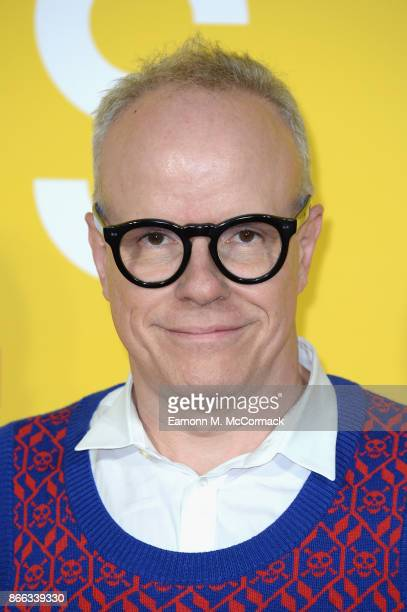 HansUlrich Obrist attends the 'Grace Jones Bloodlight And Bami' UK premiere at BFI Southbank on October 25 2017 in London England