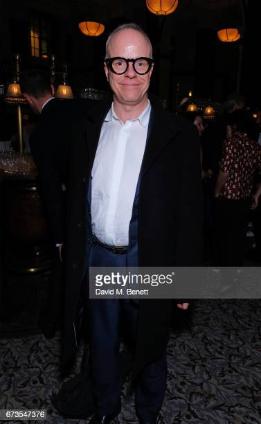 HansUlrich Obrist attends the launch of The Ned London on April 26 2017 in London England