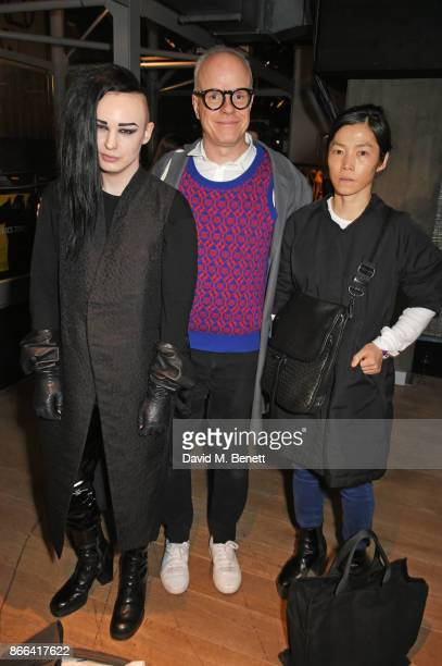 HansUlrich Obrist attends the UK Premiere after party for 'Grace Jones Bloodlight And Bami' at the BFI Southbank on October 25 2017 in London England