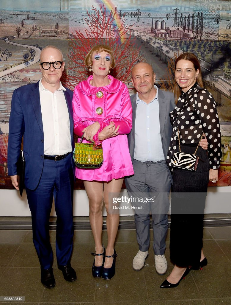 """Mulberry's Special Private View of Grayson Perry's """"The Most Popular Art Exhibition Ever!"""""""