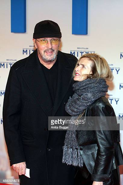 HansWerner Olm and Cornelia Utz attend the German premiere of the film 'The Secret Life Of Walter Mitty' at Zoo Palast on December 11 2013 in Berlin...