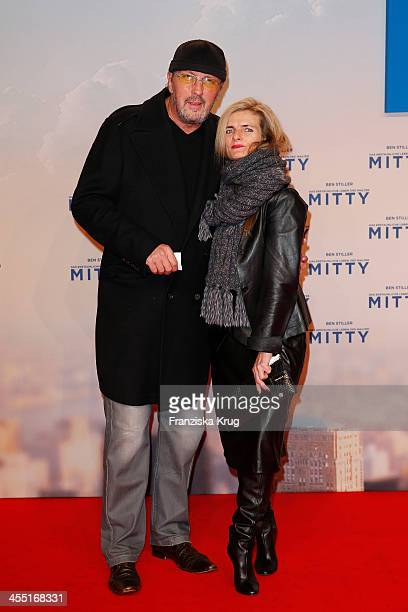 HansWerner Olm and Cornelia Utz attend 'The Secret Life Of Walter Mitty' German Premiere on December 11 2013 in Berlin Germany