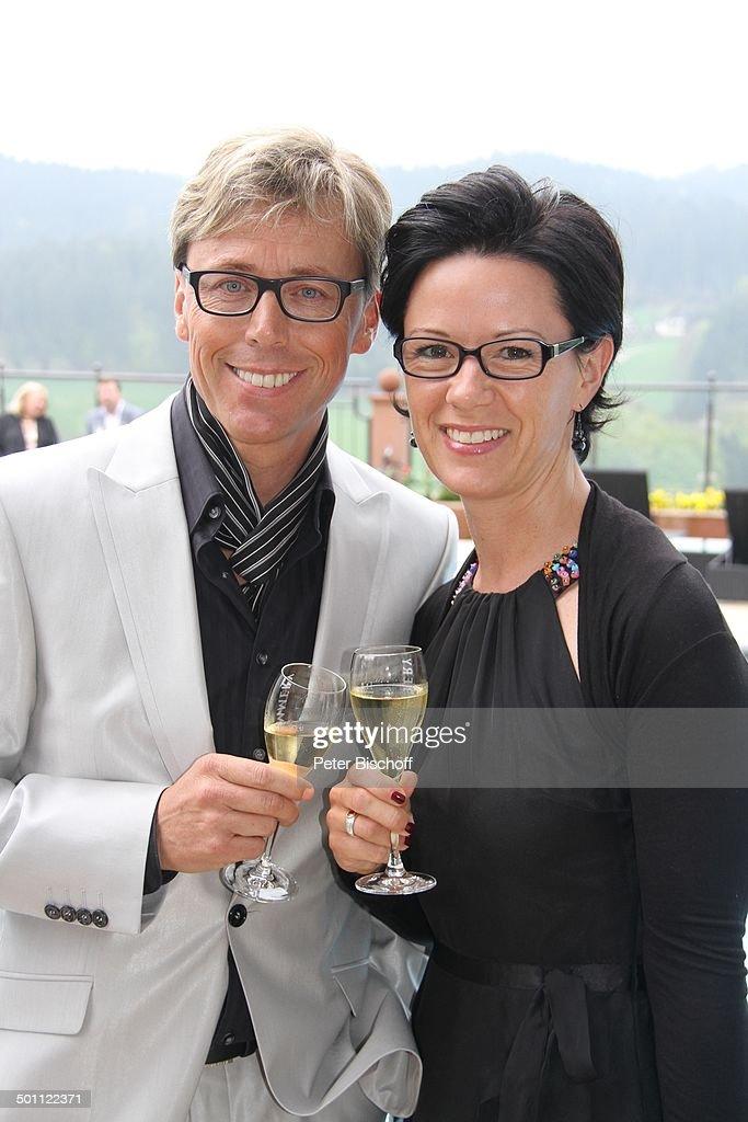 Hansy Vogt Mit Ehefrau Petra Empfang Zur Verleihung Spa