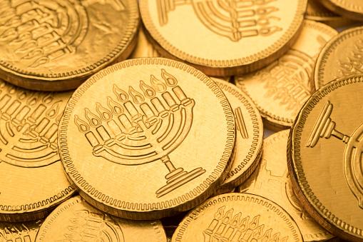 Hanukkah Gelt Chocolate Coins 622894144