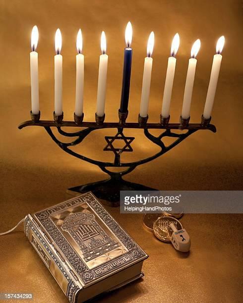 Candelabro Judeu Hanukkah