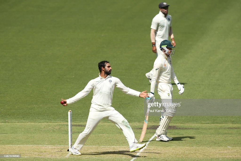 Australia v India - 2nd Test: Day 1 : News Photo