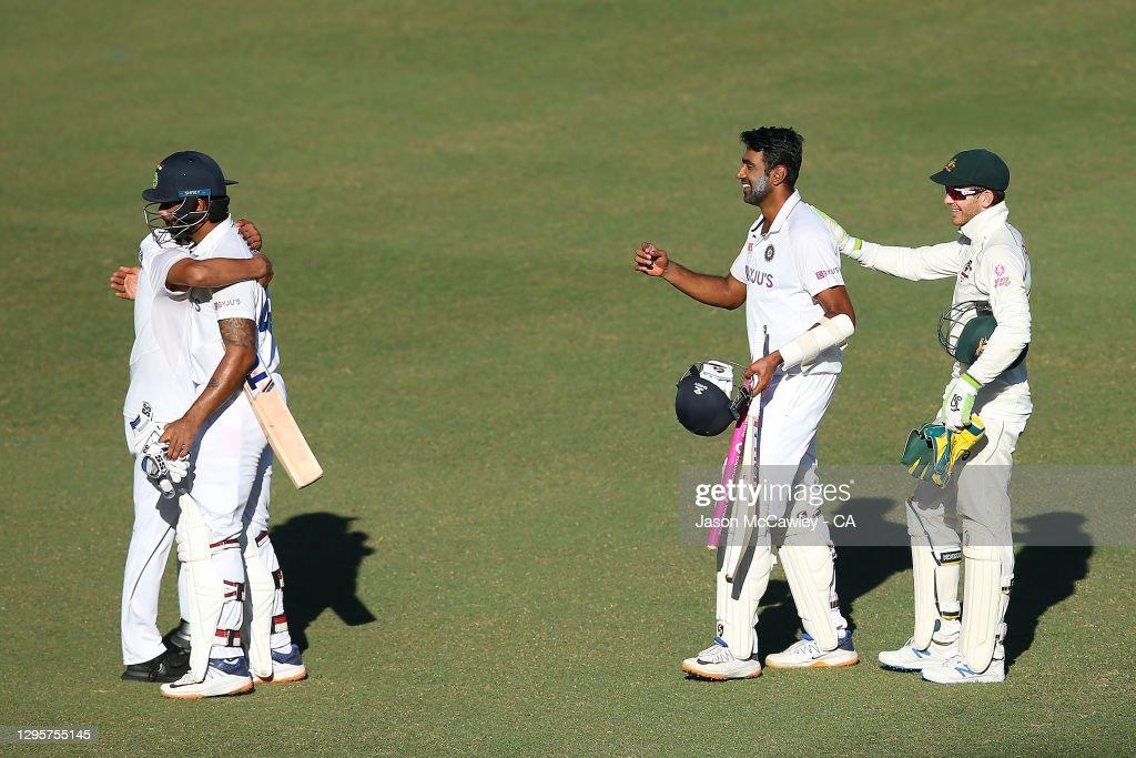 Australia v India: 3rd Test: Day 5 : News Photo