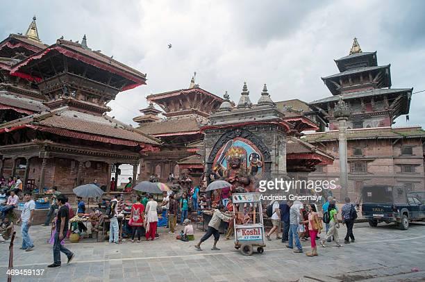 Hanuman Dhoka at the Durbar Square in Kathmandu, Nepal