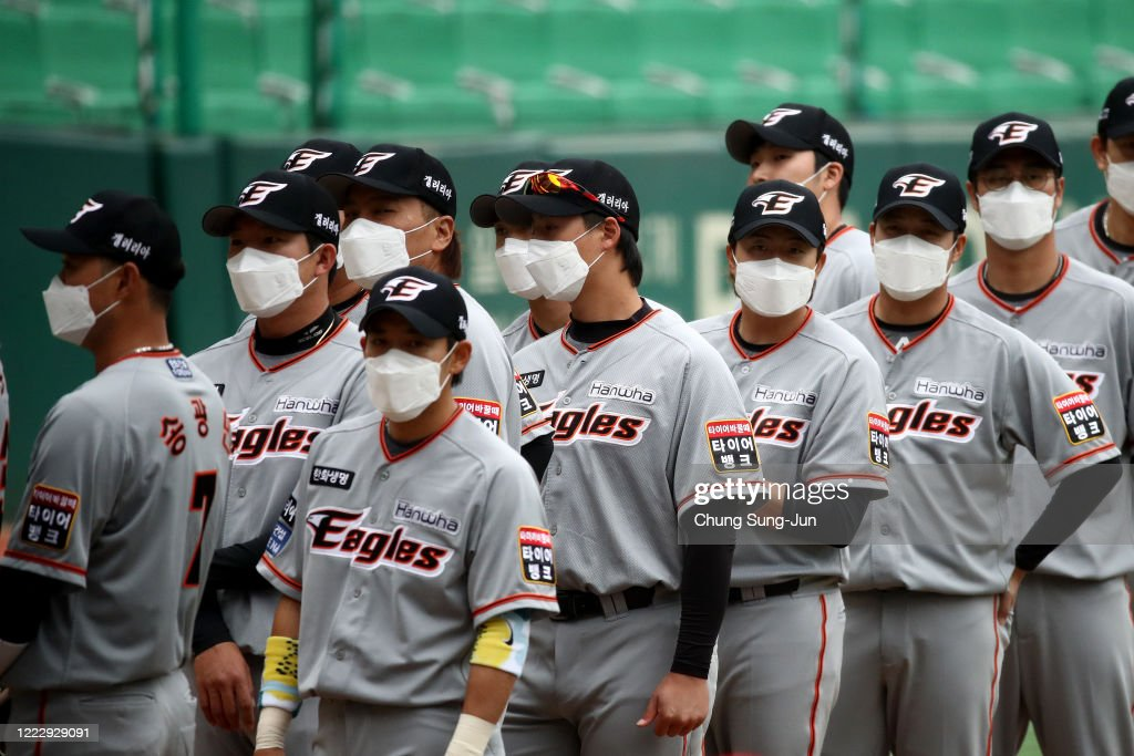 SK Wyverns v Hanwha Eagles - KBO League Opening Game : News Photo