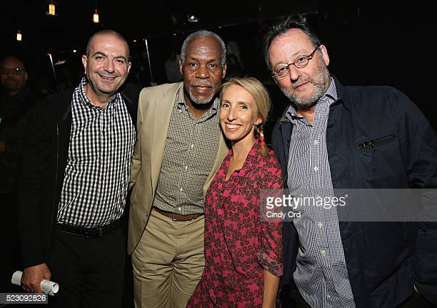 Hany Abu Assad Danny Glover Sam TaylorJohnson and Jean Reno attend the 2016 Tribeca Film Festival Awards Night on April 21 2016 in New York City