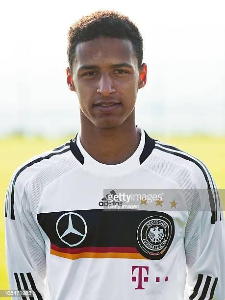 Hany Mukhtar poses during the U16 National Team Presentation on October 13 2010 in GOETTINGEN Germany Hany Mukhtar