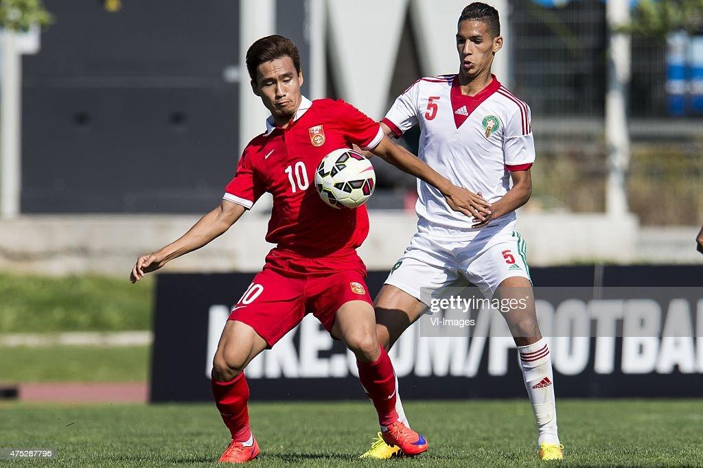 """Festival International Espoirs - """"China U21 v Morocco U21"""" : Photo d'actualité"""
