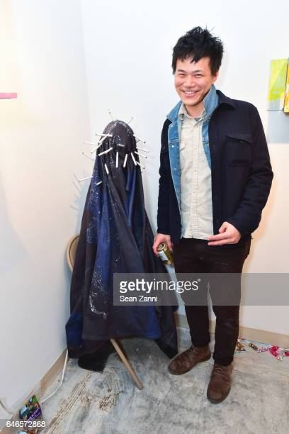 Hao Ni attends Spring Break Art Fair 2017 Vernissage at 4 Times Square on February 28 2017 in New York City