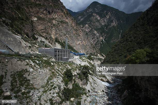 KONGYUXIANG GARZE SICHUAN CHINA AUGUST 12 Haobtc's bitcoin mine is pictured in remote mountains on the edge of the Tibetan Plateau near Kongyuxiang...