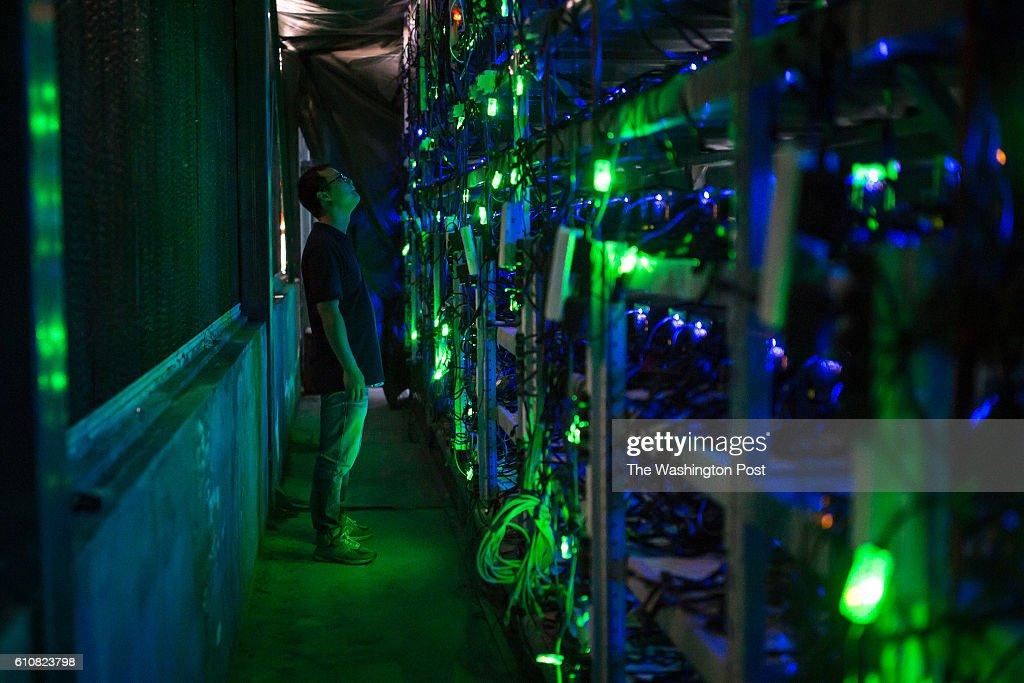 Inside a Chinese bitcoin mine : News Photo